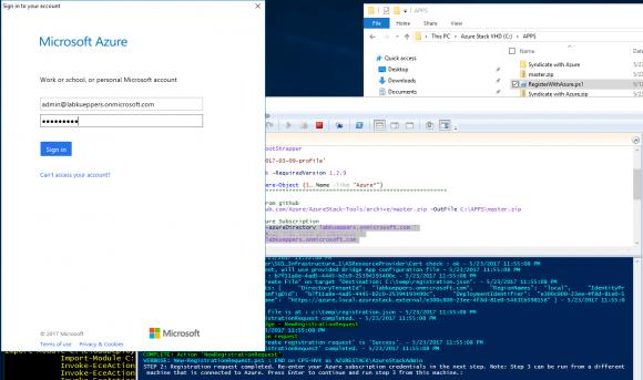 Registrierung von Azure Stack POC mit Azure