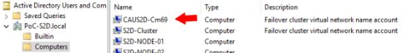 CAU AD Computer Objekt