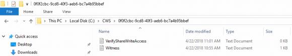Freigabenzeuge für Windows Server 2019 Failover Cluster