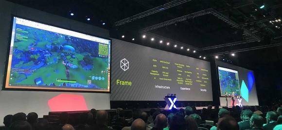 Über einen kilometerweit entfernten Desktop lässt sich fließend Fortnite spielen.
