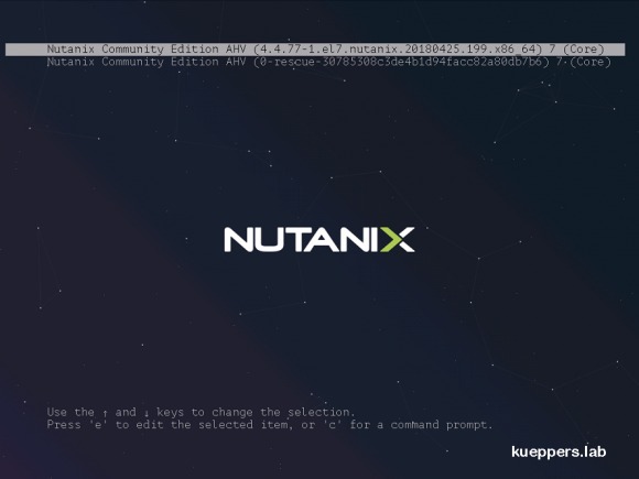 Installation der Nutanix Community Edition