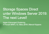 Storage Spaces Direct in Server 2019