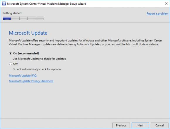 VMM in den Updates mit einbeziehen