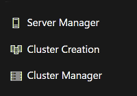 Windows Admin Center Cluster Creation
