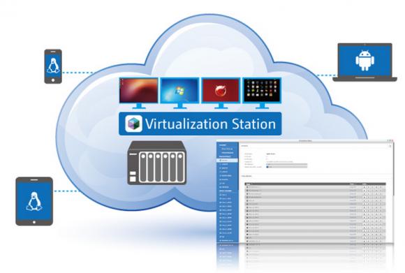 Die Virtualization Station unterstützt eine Reihe von Betriebssystemen, darunter Windows und Linux.