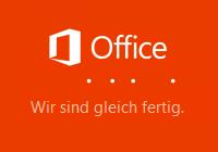 Installation von Microsoft Office