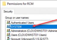SYSTEM-Konto als Besitzer eines Registry-Schlüssels