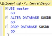 WSUS-Datenbank migrieren mit SSMS