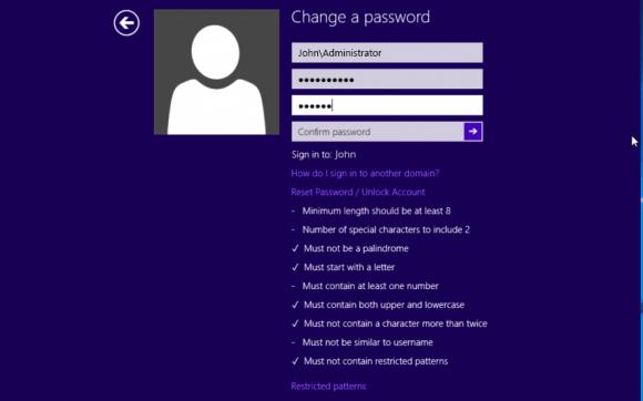 Passwort am Anmeldebildschirm von Windows zurücksetzen