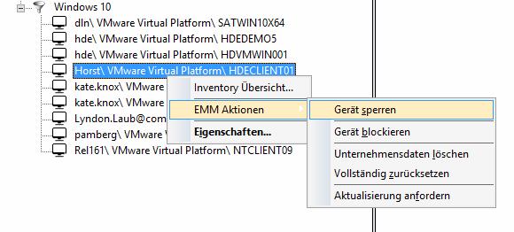 Mit den richtigen Tools lassen sich typische EMM-Funktionen wie Remote Wipe nun auch auf Notebooks mit Windows 10 anwenden.