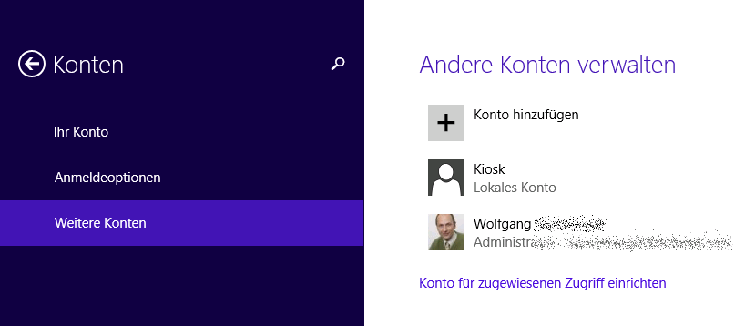 assigned access windows 8.1