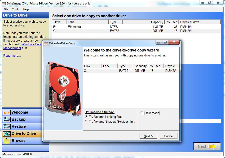 Test: Festplatten klonen und Daten sichern mit DriveImage XML ...