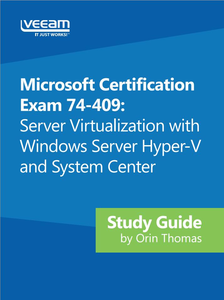 Kostenloses E-Book für Exam 74-409: Hyper-V und System