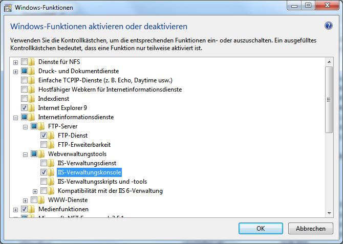 FTP-Server unter Windows 7 und 8 mit IIS einrichten | WindowsPro