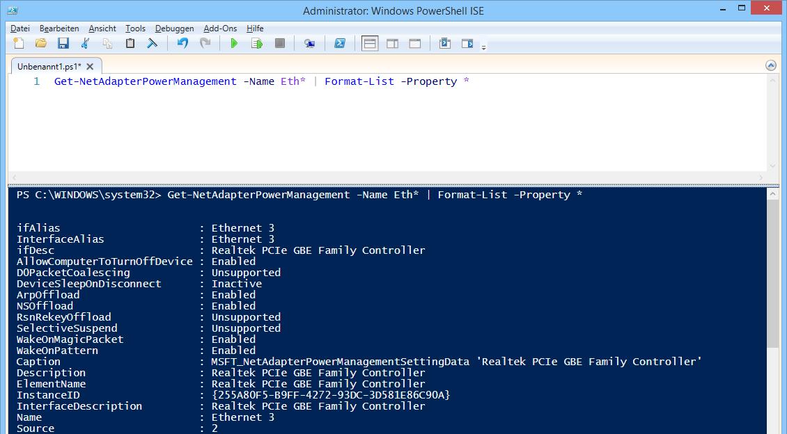 Get-NetAdapter: NICs verwalten mit PowerShell | WindowsPro
