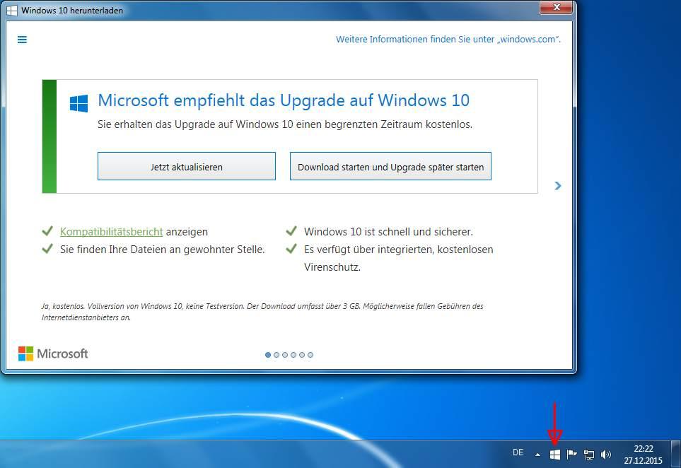 Windows 8 10 App: Automatisches Upgrade Von Windows 7 Und 8.1 Auf Windows 10
