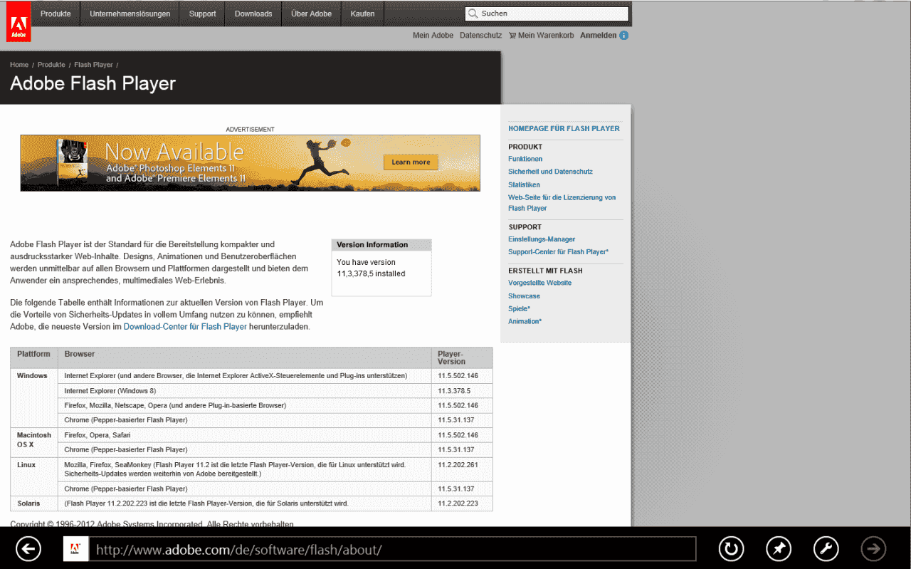 Internet Explorer 10 in Windows 8: 32 oder 64 Bit, App oder