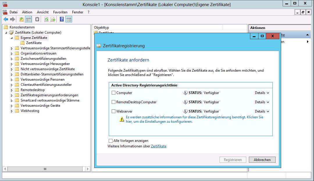 SAN-Zertifikate ausstellen über Active Directory CA | WindowsPro