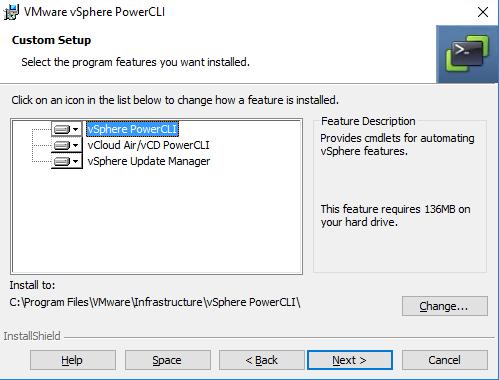 PowerCLI enthält Module für mehrere VMware-Produkte.