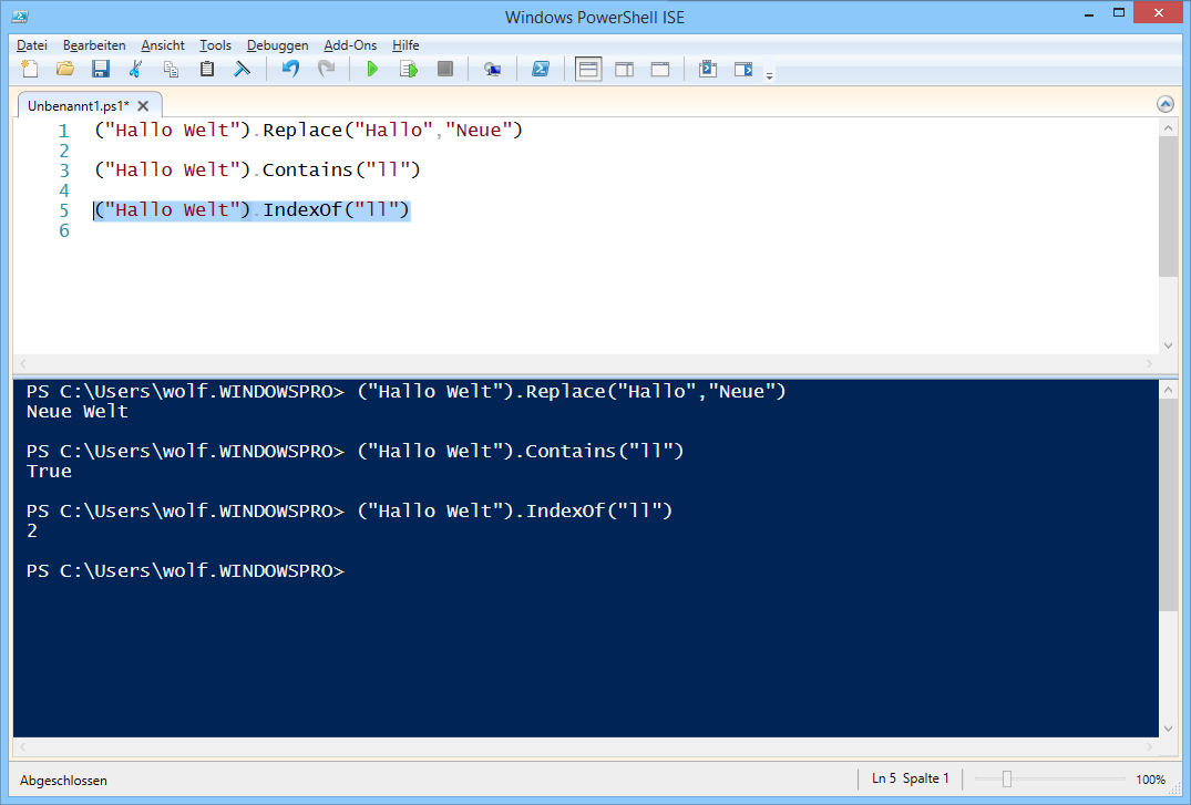 split file powershell
