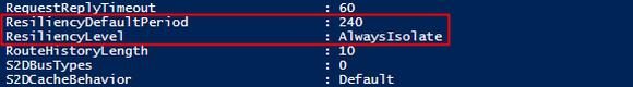 VM Compute Resiliency: Konfiguration anzeigen mit PowerShell