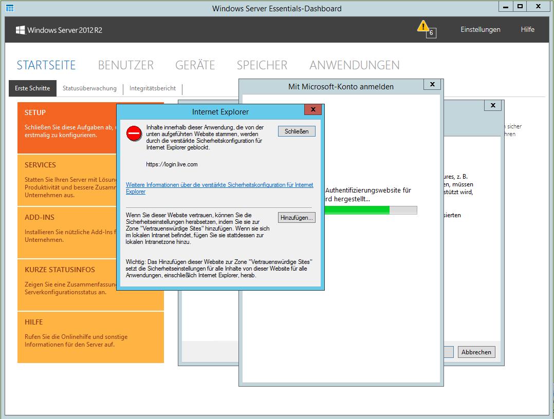 Windows Server 2012 R2 Essentials: Clients verbinden, Features ...