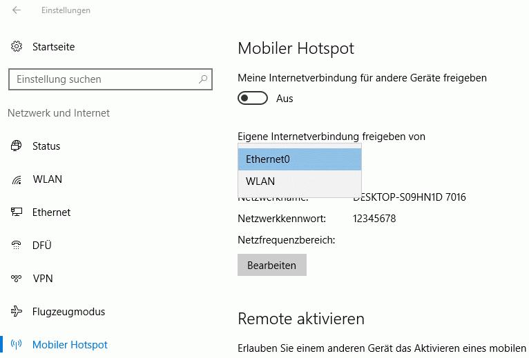 Windows 10 Als Wlan Access Point Konfigurieren Windowspro