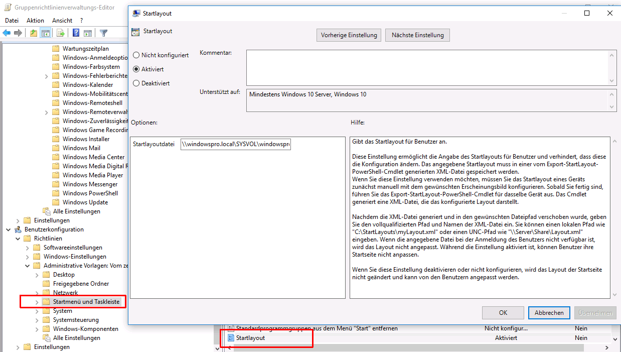 Startmenü in Windows 10 anpassen über GPOs oder .ppkg-Dateien ...