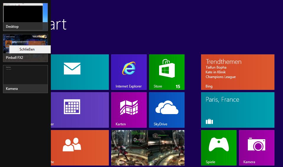 Apps im hintergrund windows 8