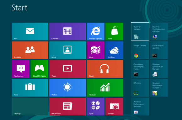 Die neue Metro-Oberfläche in Windows 8
