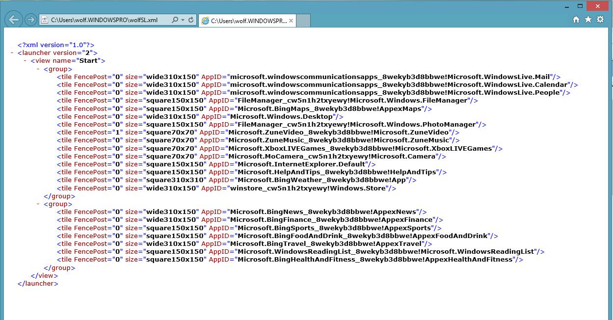 Startseite in Windows 8.1 und Server 2012 R2 über GPOs verwalten ...