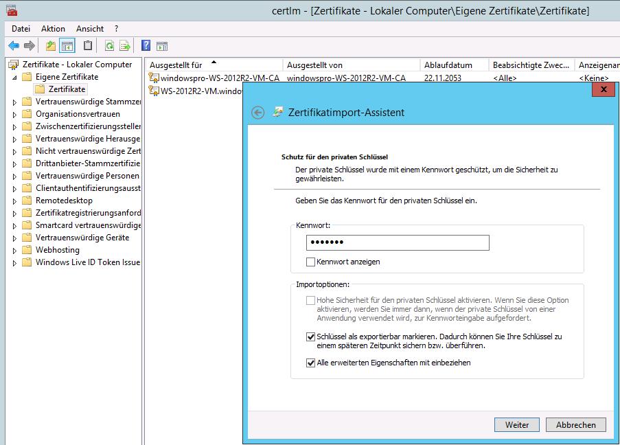 Terminal-Server-Farmen: Zertifikate an Session Hosts zuweisen ...
