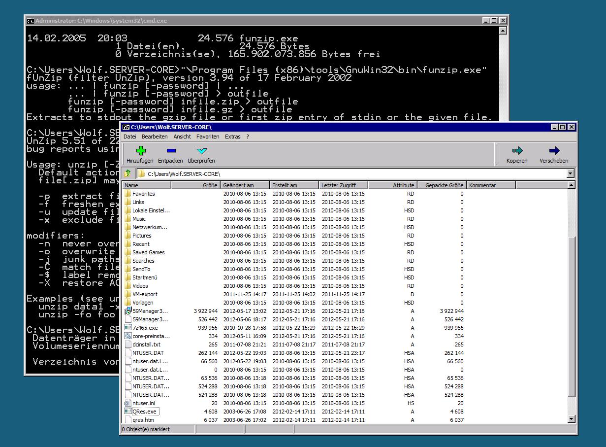 Zip Datei Entpacken Unter Windows Server Core Windowspro