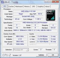 CPU-Z gibt detaillierte Auskünfte über CPU, Mainboard und Arbeitsspeicher.