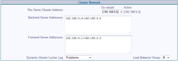 Jeder Knoten im Cluster kennt alle anderen beteiligten Knoten.