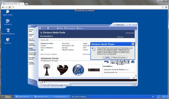 Der RDP-Client für Chrome lässt die Audioausgabe und die Integration lokaler Ressourcen vermissen.
