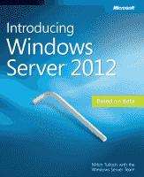 E-Book Introducing Windows Server 2012