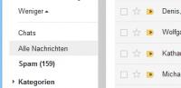 """Ordner """"Alle Nachrichten"""" in Google Mail"""