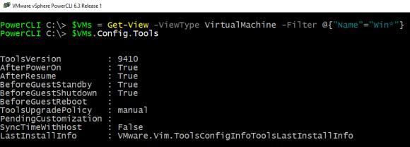 Informationen zu den VMware Tools abrufen mit Get-View