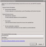 Der RD Session Host im Redirection Mode schaltet sich zwischen die Clients und den RD Connection Broker