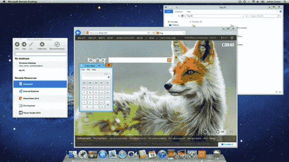 Ein Traum der Apple-User wird wahr: der Internet Explorer als RemoteApp auf dem Mac.