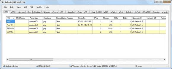Die kostenlosen RVTools 3.5 erfassen nun auch Informationen zu Resource Pools in vSphere.