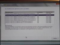 Installation von Windows Server Core