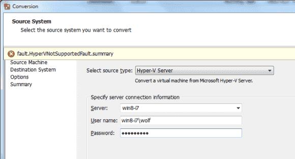 VMware Converter 5.1: Support für UEFI, GPT, Windows 8 und