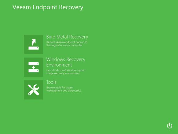 Das Wiederherstellungsmedium bootet ein WinRE, aus dem sich eine gesamte PC-Installation restaurieren lässt.