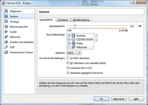Die Umstellung einer VM auf UEFI unter VirtualBox fällt einfach, die Schwierigkeiten liegen bei den Eigenheiten der Gastsysteme.