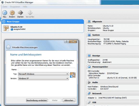 Die Unterstützung von Windows 8 und Server 2012 gehört zu den wichtigsten Neuerungen von VirtualBox 4.2