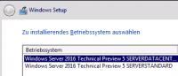 Windows Setup nach Netzwerk-Boot des Clients.