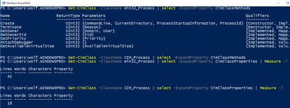 Die Unterschiede zwischen den Klassen Win32_Process und CIM_Process