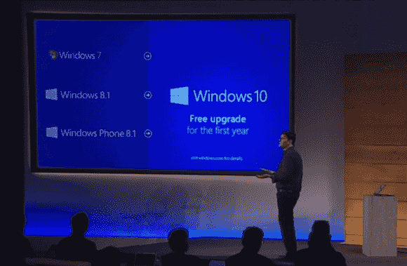 Windows 10 soll für Kunden mit Windows 7/8 für 1 Jahr kostenlos sein.  Aus diesem Angebot wird immer mehr eines, das Unternehmen nicht ablehnen können.